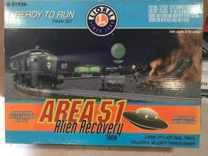 Area 51 Alien Recovery Train