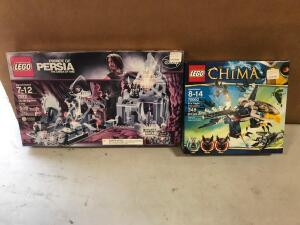 Lego Legends of Chima and Prince of Persia the Sands of Time