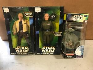 (3) Star Wars Figures