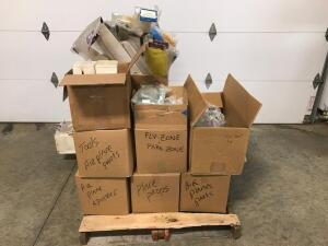 Pallet of Fly Zone, Airplane Items, and Misc