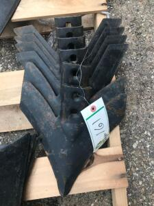 NEW WIESE - VIPER CULTIVATOR SWEEPS - QUANTITY 6