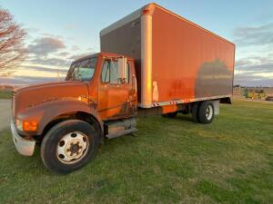 1993 International 4600 LP Truck, VIN # 1HTSBZRM0PH533610