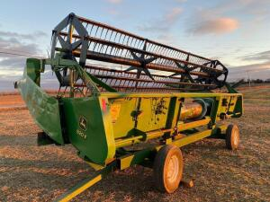 John Deere 920F Grain Head