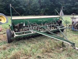 John Deere FB-B Grain Drill with Seeder Box
