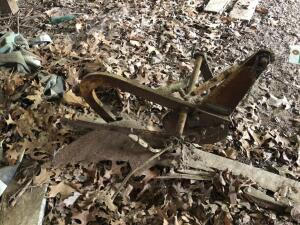 Sears & Roebuck Single Bottom Garden Tractor Plow