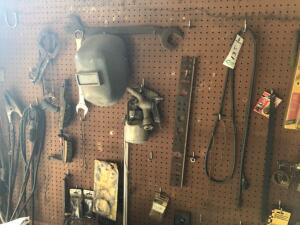 Contents of Pegboard