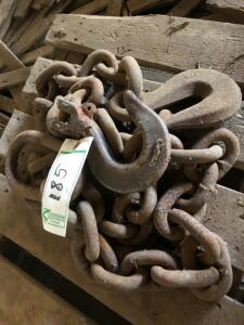 Large Chain with Hooks