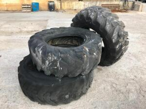 (3) 17.5-25 Tires