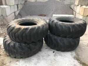 (4) 20.5-25 Tires