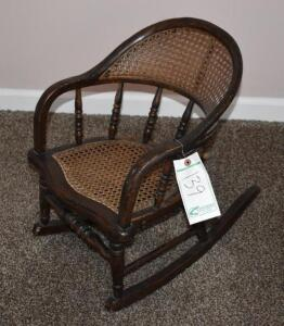 Children's Rocking Chair Antique