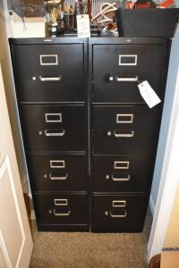 (2) Filing Cabinets