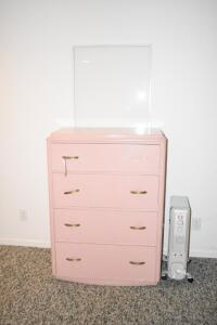Dresser and Oil Filled Heater