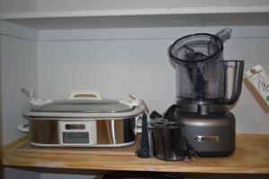 Cuisinart Food Processor and Crock-Pot