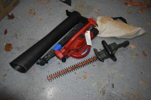 Black and Decker Hedge Trimmer and Toro Shredz-All