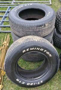 (4) Remington Tires P235/60 R 14