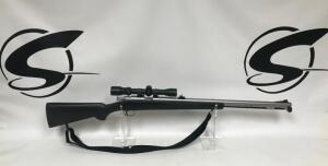 White W Series Super 91 .504 cal Black Powder Muzzleloader with Scope