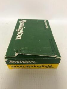 Box of 30-06 Ammo