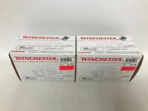 (2) Boxes of 38 Special Ammo