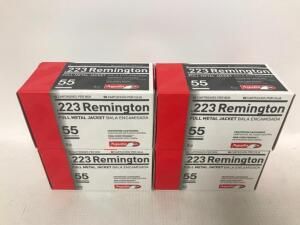 (4) Boxes of .223 Remington Ammo