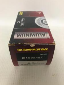 Box of 40 S&W Ammo