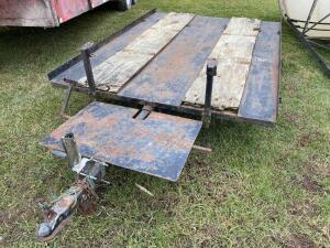 2 Place Snowmobile Tilt Trailer