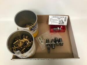 30 Carbine RCBS 3 Die Set, 4lbs. Cleaned & De-primed Brass Cases, Some Dirty Brass Cases