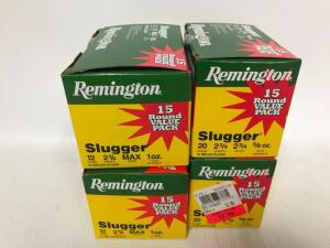 "Remington 12GA & 20GA 2 3/4"" Ammo"