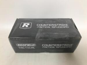 NEW Redfield 1x30mm Red Dot Counterstrike Rifle Scope