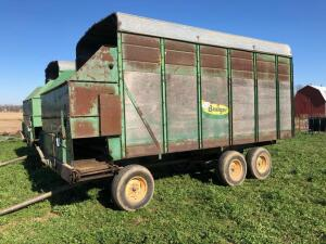 Badger 454 Silage Wagon, S/N - 693