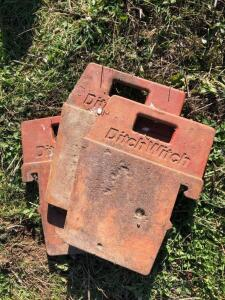 Ditch Witch Suitcase weights