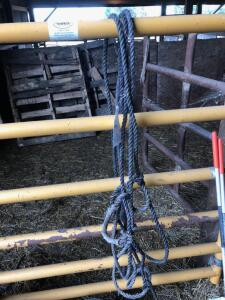 (3) Rope Cattle Halters
