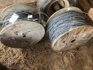 (2) Rolls of High Tensile Fence wire