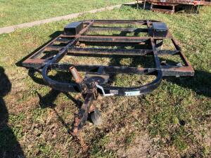 Single axle Trailer Frame, no title or registration