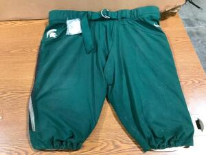 MSU Football Pants on Board with Buttons
