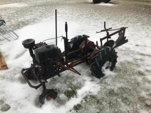 Tiller Speedex Tractor with Single Bottom Plow
