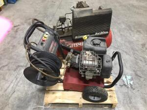 Air Compressor and Pressure Washer