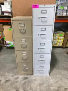 (2) File Cabinets