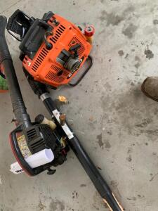 Homelite and Echo Leaf Blowers