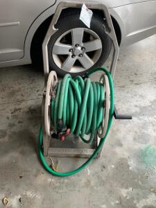 Hose Reel with Hose