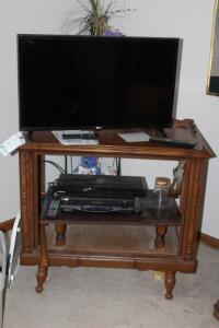 LG tv, VCR, DVD Player and Stand