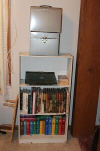 (3) Book Shelves with Contents