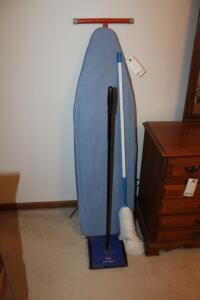 Ironing Board, Duster and Sweeper