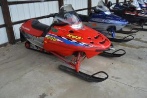Polaris XCF 440 snowmobile