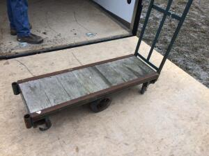 Rolling Cart (Wooden Base)