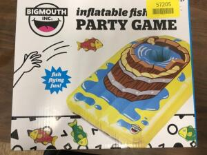 Big Mouth Toys Inflatable Flying Fish Cornhole