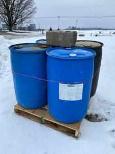 4- 55 Gallon Drums