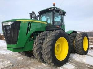John Deere 9410 R Tractor, 5,600 hours, Power Shift Transmission, S/N - 1R9410RTEP011534