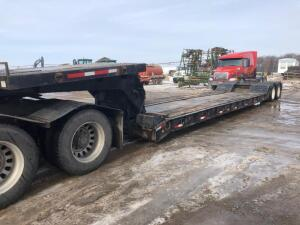 2000 Simco Low Boy Trailer, 39' Detach, 8' upper, VIN - 1S9A82AXYL648136