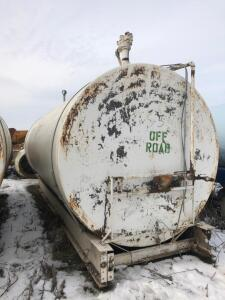 8,000 gallon Fuel tank