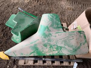 Pair of John Deere Corn Head Snouts, Poly